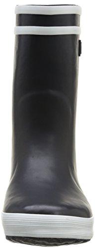 Aigle Lolly Pop Fur Unisex-Kinder Langschaft Gummistiefel Blau (marine 0)
