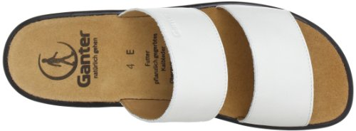 Ganter 5-202801-02000, Mules femme Blanc (Blanc)