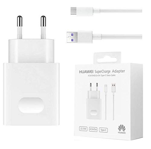 Huawei 02452310 Reiselader Super Charge inkl. 5A USB-C Kabel, AP81 - 5a Single