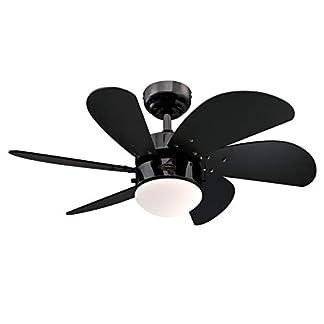 Westinghouse Lighting 78158 Turbo Swirl One-Light 76 cm Ventilatore a soffitto per Interni a Sei Pale,