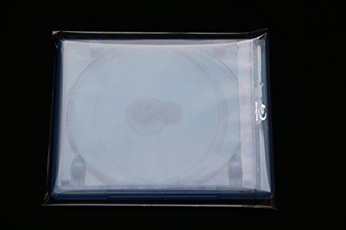 Preisvergleich Produktbild 1000 Stück Blu-ray Steelbook Hüllen Schutzhüllen Folienhüllen mit Verschluss bis 15 mm