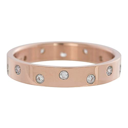 iXXXi Füllring 14 ZIRKONIAS RING rosé - 4 mm Größe Ringgröße 21