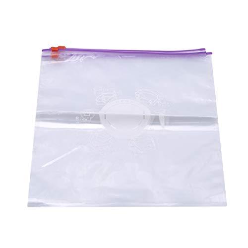 Beiswin 10 stücke Gemüse Obst Frischhaltetaschen Set Einfrieren Vakuum Frische Lagerung Reißverschluss Versiegelt Tasche für küche -