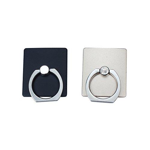 2PCS universale gancio in metallo del supporto dell'anello stand Monte Finger Grip Stand for Mobile Phone Car uso domestico a 360 ° di rotazione