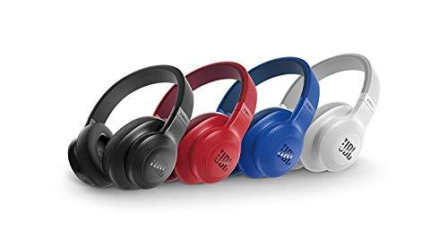 JBL E55BT Cuffie Wireless Sovraurali con Funzione Multipoint Cuffie  Circumaurali Bluetooth con Design Ergonomico fino a 20 h di Autonomia a98af1321cec