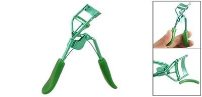 Grüne Gummiauflage Curling-Handbuch Wimpernzange kosmetisches Werkzeug von DealMux