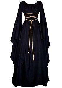 Lecoyeee Disfraz Medieval Traje Medieval