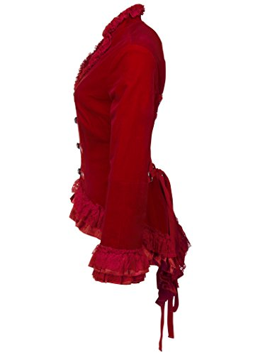 Pretty Attitude - Blouson - Femme Rouge - Rouge bordeaux