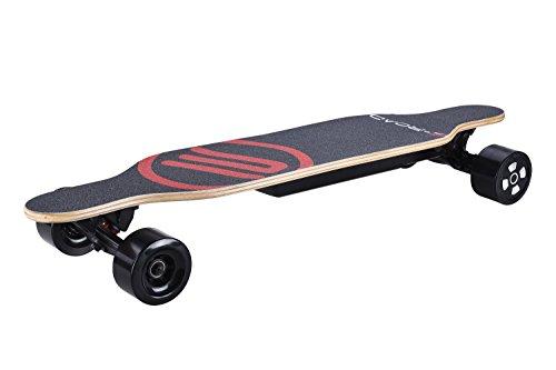 E-Road BR1021CCH Skateboard Électrique Mixte Adulte, Noir