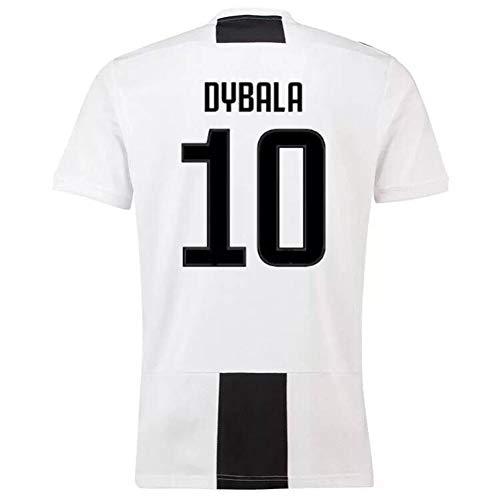 HSKS Neues Juventus-Trikot, 7,10,9 Kurzarm-Fußballuniformen für Männer und Frauen-S-2 -
