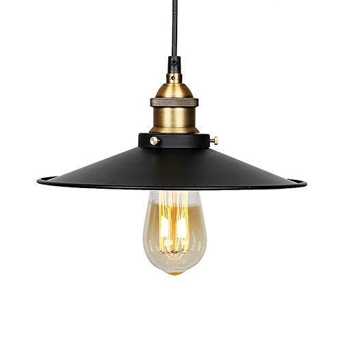 Lámpara colgante de metal, modelo vintage, lámpara retro ...