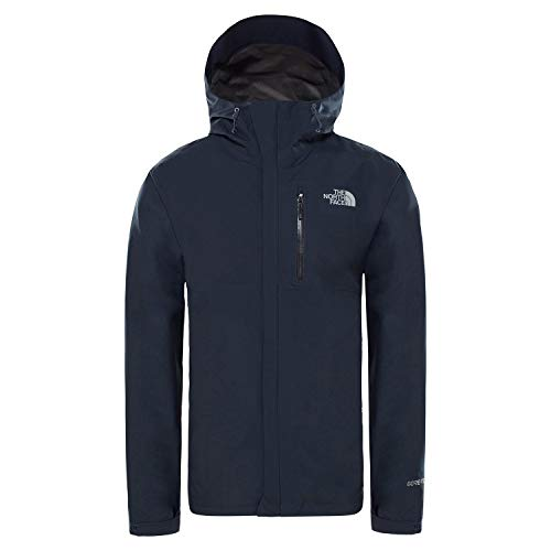 THE NORTH FACE Herren Dryzzle Jacke, Urban Navy/Mid Grey, L - Face North Jacke The Gore Tex