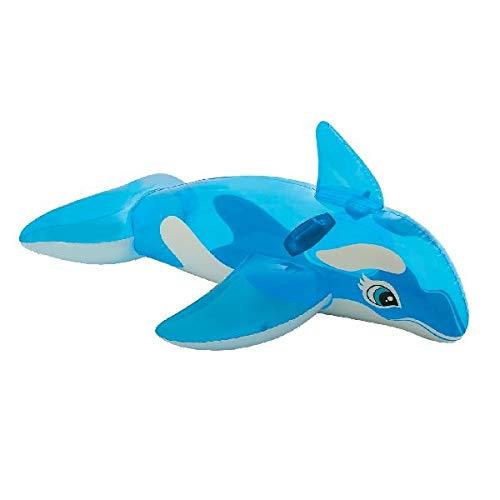 Intex 58523 cavalcabile orca, azzurro, 1.52m x 1.14 m