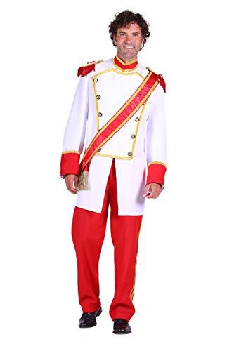 Charming Disney Prince Kostüm - Thetru Prince Charming/Royal - Disney Style XL 116/122 cm