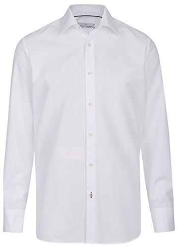 Einhorn Herren Hemd Modern Fit Jamie weiß 0854.11305 1 Weiß