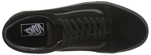 Vans  Ua Old Skool, Sneakers Basses homme Noir (Suede Black/black/black)
