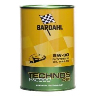 Bardahl 322040 Technos 5W30 Fullerene A3/B4 504.00 507.00 BMW LL04 1 L