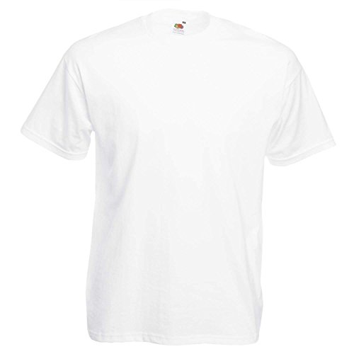 Fruit of the LoomHerren T-Shirt White