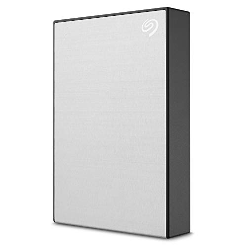 Seagate Backup Plus Portable, tragbare externe Festplatte, 5 TB, 2.5 Zoll, USB 3.0, PC & Mac, silber, ModelNr.: STHP5000401