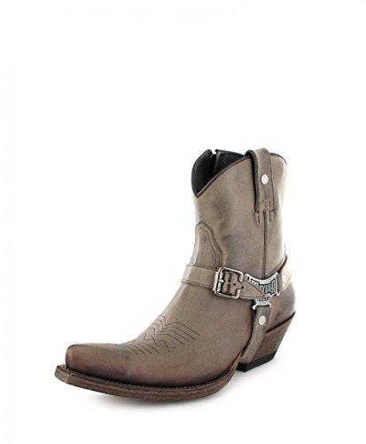 32789824a4d2 Mayura BootsMB014 Meo - Botas de Vaquero Hombre, Color Marrón, Talla 42 EU