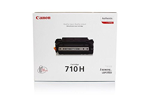 HP LaserJet 2400 Series - Original Canon 0986B001 / 710H Black Toner - -