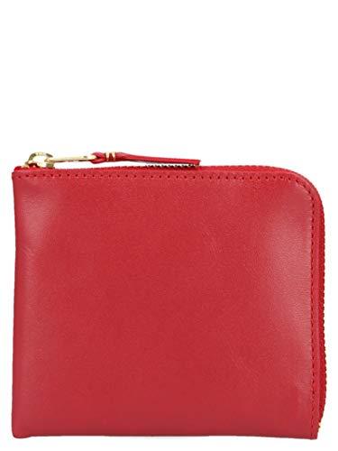 Comme des Garçons Herren Sa3100red Rot Leder Brieftaschen -