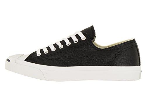 Jack Purcell Noir / Blanc Chaussure en cuir Top (1S962) Noir/Blanc