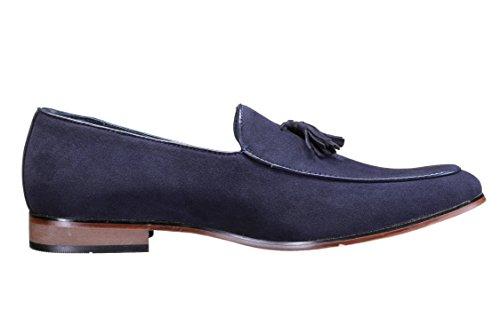 Galax - Chaussure Derbies Gh3064 Navy Bleu