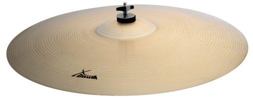 """XDrum 20"""" Eco Becken Ride (Drum Cymbals, Musikalisches, harmonisches und dennoch durchsetzungsfähiges Beckenset, Im Klang mitteldunkel, voll)"""