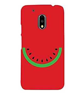 FUSON Vector Abstract Watermelon Summer 3D Hard Polycarbonate Designer Back Case Cover for Motorola Moto G4 :: Moto G (4th Gen)