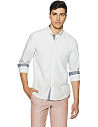 Nautica Men's Printed Slim Fit Casual Shirt