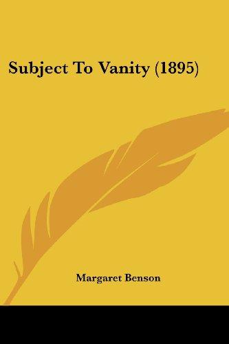 Subject to Vanity (1895)