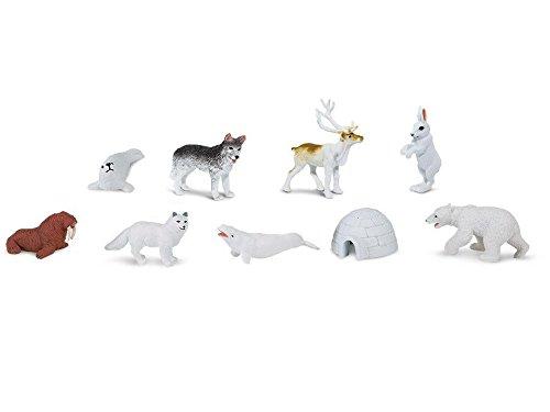 8x Alaska Set Iglu Eisbär Aufstellfiguren Arktis Pol Tiere Miniblings Figuren