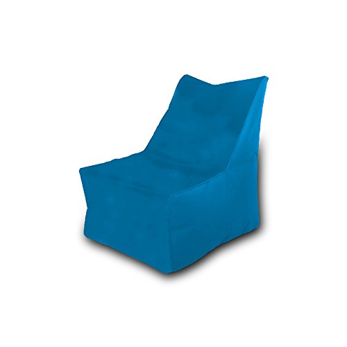 Pufmania Bean Bag Beanbag Chair Polyester Waterproof 75x 75cm (Sky)