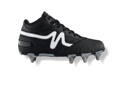 Mitre, Scarpe da Rugby uomo Nero (nero/bianco)