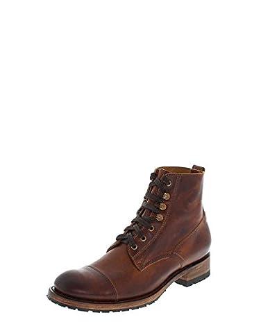 Sendra Boots Stiefel DAVID Braun Urban Boot Schnürstiefel