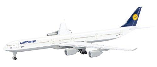 dickie-403551634-modellino-di-airbus-a340-600-compagnia-aerea-lufthansa-scala-1600