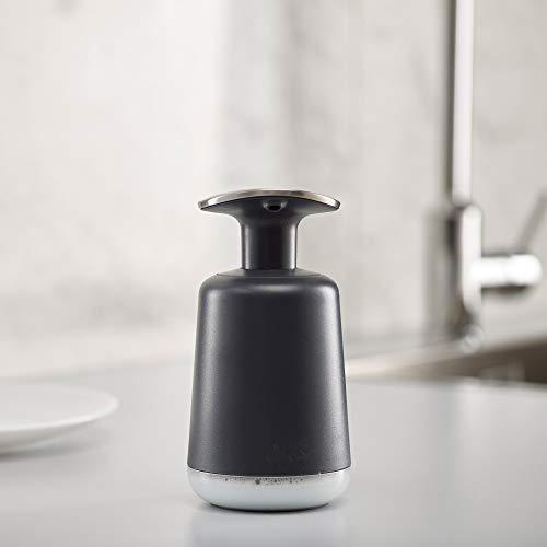 Plastica Plastica /Scopino per WC Bianco//Grigio 12.3/x 8.7/x 43.1/cm /& Slim Compatto Dispenser Sapone Bianco//Grigio Joseph Joseph Flex/ 9.1/x 6.2/x 14.1/cm