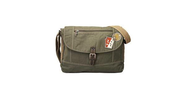 de3a78936f Borse Tessuto da uomo FOSSIL MEN BAG MEN ACE E/W MESSENGER OLIVE  MBG5817345: Amazon.it: Valigeria