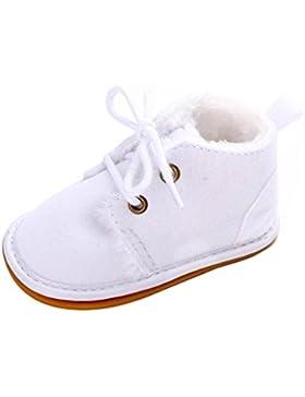 Lauflernschuhe Krabbelschuhe Babyhausschuhe mit Gummisohle Junge Mädchen Kleinkind 0-6 Monate 6-12 Monate 12-18...