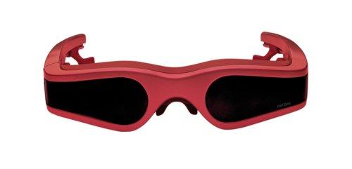 Preisvergleich Produktbild Cinemizer Videobrille rot (B-Ware)