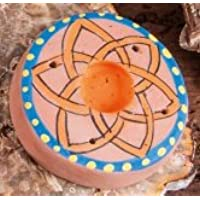 Berg Kegel- und Stäbchenhalter Lotus aus Ton, ca. 5,5 cm preisvergleich bei billige-tabletten.eu