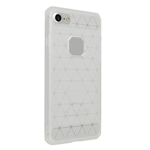 iPhone 7 Hülle, Asnlove Ultra Slim TPU Silikon Backcover Case Taschen Handy Schutzhülle Rutschfest für iPhone 7 4.7 Zoll - Grau Style-5
