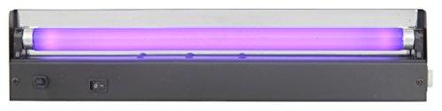 QTX–Light Box mit UV-Röhre, 15W, 450mm, Farbe: schwarz (Qtx Light)