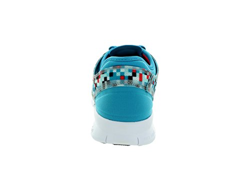Nike - Nike Free 5.0 Wmns Tr Fit 5 Prt Scarpe Sportive Nere Verdi Tela 704695 Blu