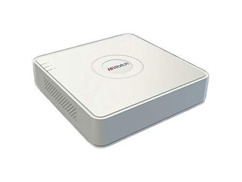 Hikvision Digital Technology Netzwerk-Videorekorder (NVR) DS-N104 1U, 4 Kanäle, 1.920 x 1.080 Pixel, 10,1 Mbit/s, 4 TB, SATA, 1U, Weiß