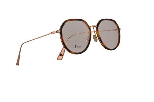 Dior Christian DiorstellaireO9 Brille 50-18-145, Havana Gold mit Demo klares Gläser, 2IK StellaireO9 DiorStellaire O9 -