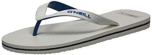 O'Neill Herren Fm Friction Flip Flops Zehentrenner Weiß (Powder White)