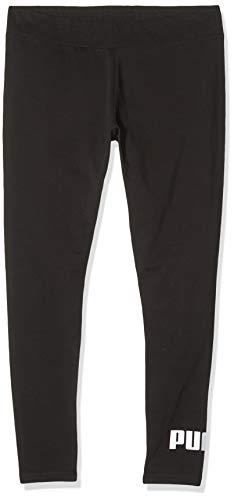 PUMA Damen ESS Logo Leggings Hose, Cotton Black, L