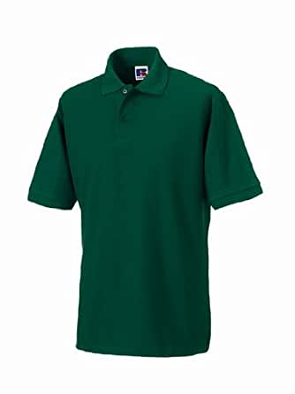 Russell hard polo bot green XS